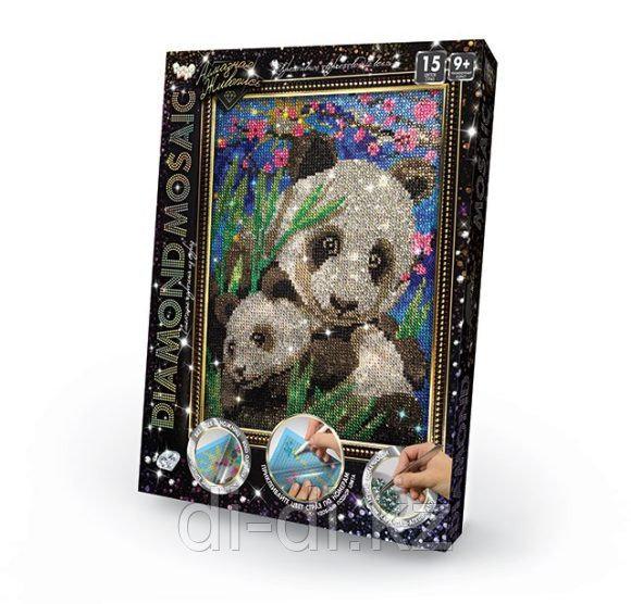 Алмазная картина Diamond Mosaic - Малая панда