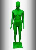 Манекен глянцевый зеленый