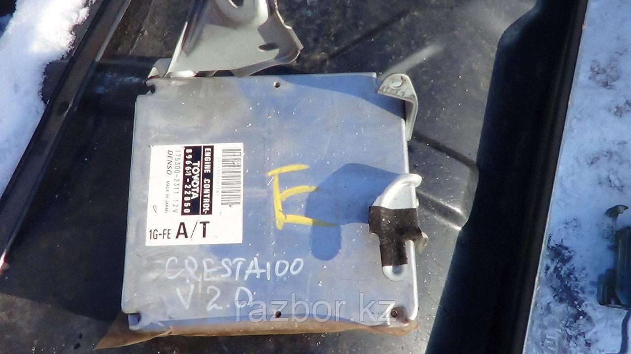 Блок управления двигателем Toyota Cresta (100) / №89611-22850