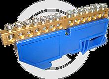 Шина нулевая на DIN рейку N 63.14 ЭКФ