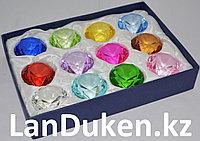 Набор сувенирных кристаллов 12 штук в ассортименте (84 гр.)