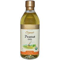 Spectrum Naturals, Органическое арахисовое масло, рафинированное,  (473 мл).Идеально для жарки и салатов.