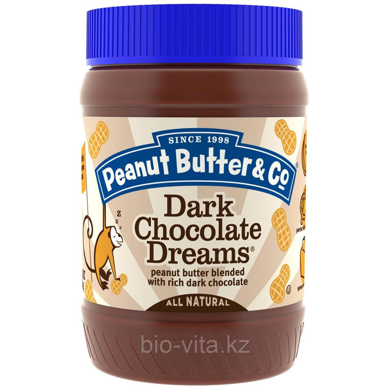 Peanut Butter & Co., Арахисовое масло с черным шоколадом  454 гр.Бутербродное.