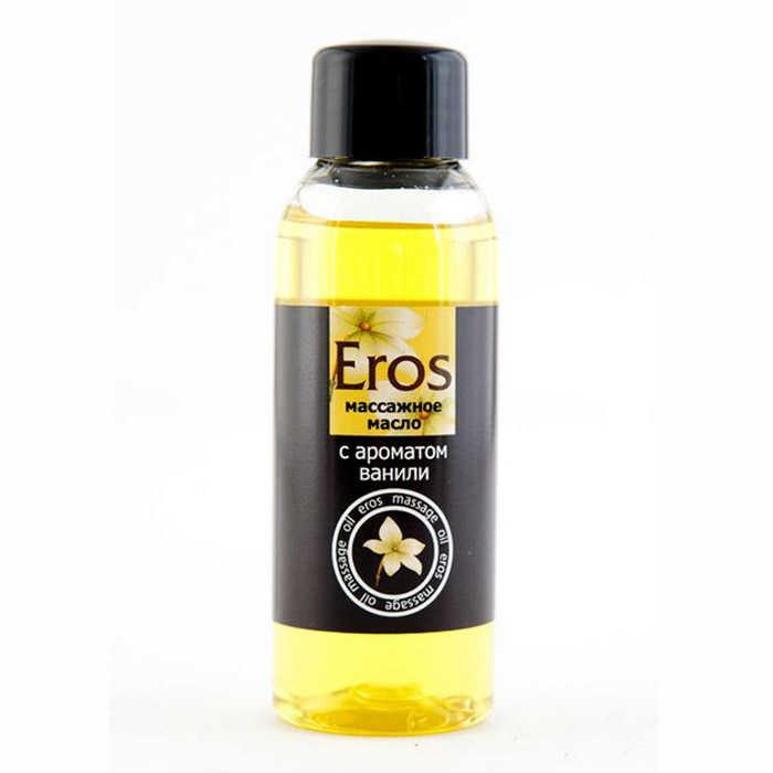 Масло массажное Eros с ароматом ванили, 50мл