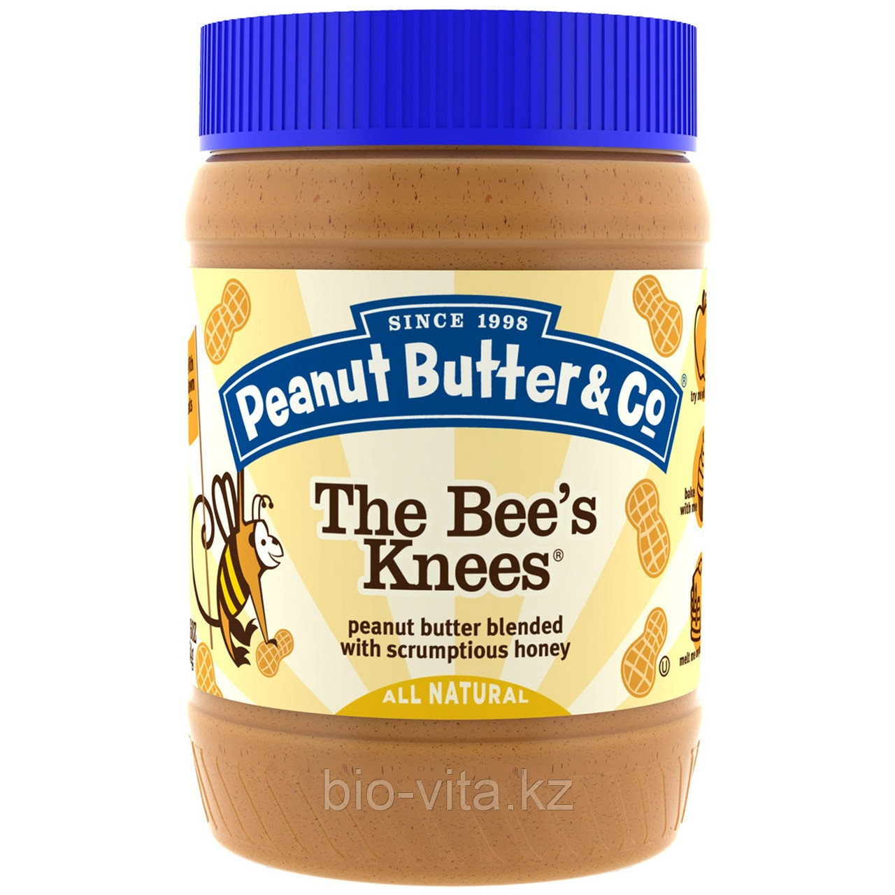 Peanut Butter & Co., Арахисовое масло с мёдом,  (454 г)