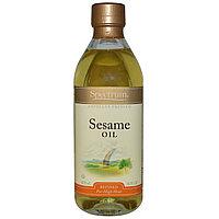 Spectrum Naturals, Кунжутное масло, рафинированное, 473 мл.