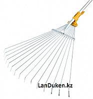 Веерные грабли телескопические раздвижные с черенком PALISAD LUXE 61787 (002)