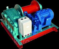 Лебедка электрическая TOR (JM) г/п 0,5 тн Н=100 м (б/каната)