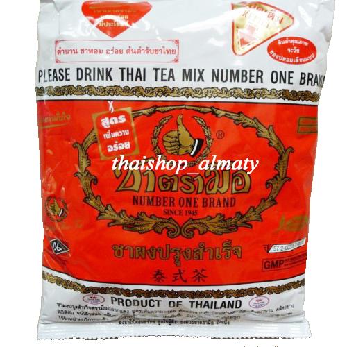 Красный тайский чай