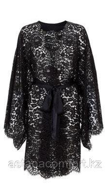 Халат кружевной. Кружевное кимоно