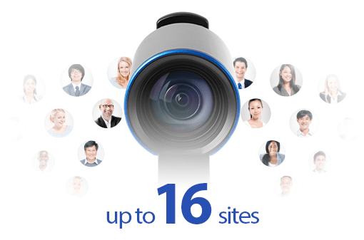 Многоточечная видеоконференция 16 точек