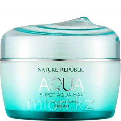 Увлажняющий крем для комбинированной кожи Super Aqua Max Moisture Cream Combination,80мл