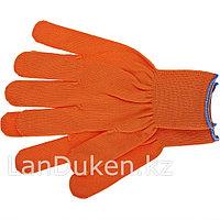 Перчатки нейлон 13 класс оранжевые XL 67840 (002)