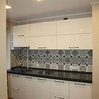Кухня в белом цвете, фото 1