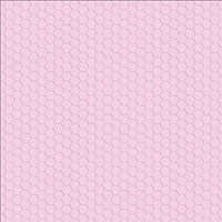 Кардсток с тиснением Light Pink - Hexagon