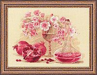 """Набор для вышивания крестом """"Розовый гранат"""", фото 1"""