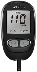 Экспресс анализатор AT Care для измерения глюкозы в крови