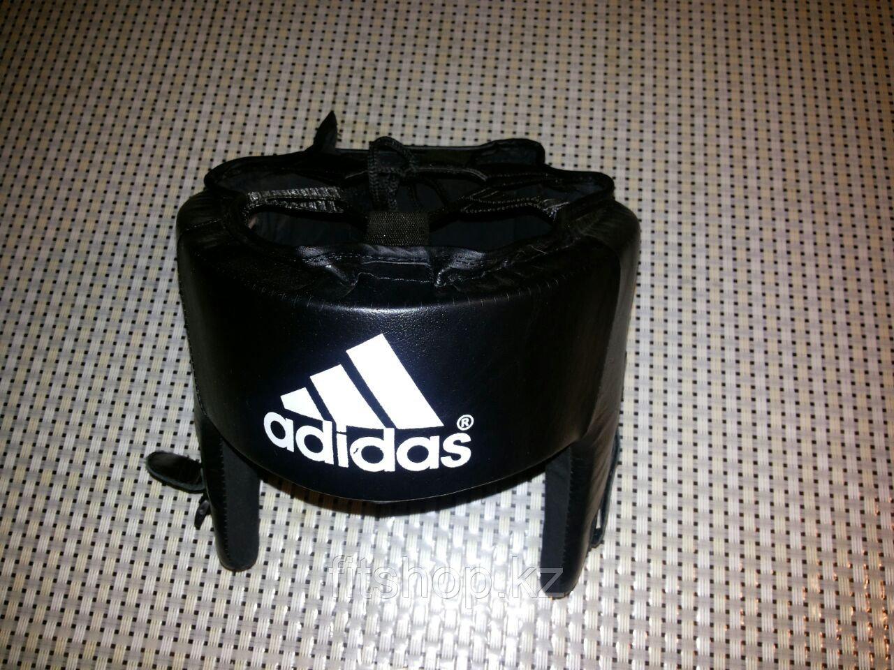 Кожаный шлем для бокса Adidas