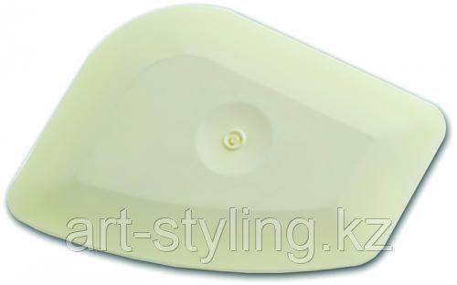 Чиззлер белый тефлоновый для устранения пыли с помощью фена (HARD)