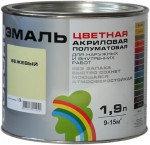 Акриловая эмаль    Радуга-220   1,9 кг.