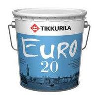 Латексно-акриловая краска для прихожей и кухонь Тиккурила Euro 20 2,7 л