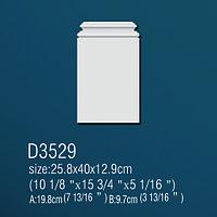 База из полиуретана D3529 (25,8*40*12,9см) (полиуретан)