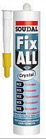 Клей-герметик Fix ALL Crystal прозрачный 290мл