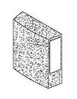 Шлифовальные элементы для алюминия, 10 шт. Comec (Италия) арт. RPB099
