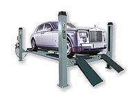 Подъемник четырехстоечный г/п 5500 кг. платформы для сход-развала KraftWell (КНР) арт. KRW5.5WA, фото 1