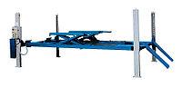 Подъемник четырехстоечный г/п 5000 кг. платформы для сход-развала, с подъем. второго уровня. Werther-OMA (Италия) арт. 450ATLT(OMA526LT), фото 1
