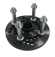 Адаптер для колёс без центрального отверстия с 4-мя установочными пальцами (98-100-101,6-108-114,3-120-130-140 мм) Ravaglioli (Италия) арт. GAR141
