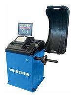 Балансировочный стенд полуавтоматический Werther-OMA (Италия) арт. Olimp6000_blue, фото 1