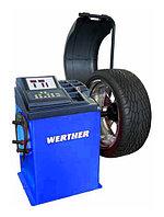 Балансировочный стенд с ручным вводом параметров Werther-OMA (Италия) арт. Olimp2500_blue, фото 1