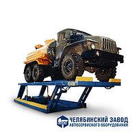 Подъемник пантографный грузовой ЧЗАО (Челябинск) арт. 12Г272М, фото 1