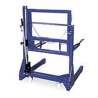 Тележка гидравлическая г/п 700 кг. для снятия колес грузовых автомобилей Werther-OMA (Италия) арт. PL701(OMA600)