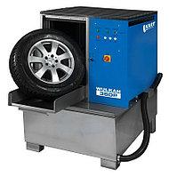 Мойка для колес легковых и грузовых автомобилей с пневматической стабилизацией колеса и подогревом Kart (Польша) арт. WULKAN360HP