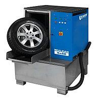 Мойка для колес легковых и грузовых автомобилей с пневматической стабилизацией колеса Kart (Польша) арт. WULKAN4x4P