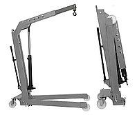 Кран складной г/п 1000 кг. однотактный Werther-OMA (Италия) арт. W108SE(OMA587)_grey, фото 1