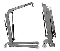 Кран складной г/п 500 кг. однотактный Werther-OMA (Италия) арт. W107SE(OMA586)_grey, фото 1