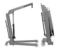 Кран складной г/п 1000 кг. двухтактный Werther-OMA (Италия) арт. W108(OMA590)_grey, фото 1