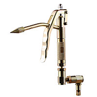 Пистолет для раздачи солидола с жестким носиком KraftWell (КНР) арт. KRW1784.A