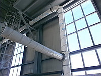 Воздуховод Ø - 350, вентиляционные каналы, воздуховоды из полипропиллена., фото 1