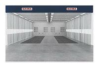 Зона подготовки к окраске 6 х 8 м., 22 000 м3/ч двойная заглубляемая Saima (Италия) арт. PrepKleen2x6x4C
