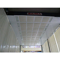 Зона подготовки к окраске 15,6 х 5 х 5 м., 56 000 м3/ч заглубляемая Saima (Италия) арт. Grand PrepKleen