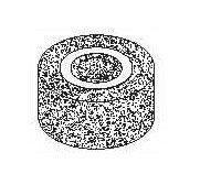 Шлифовальный элемент D=80, H=40 мм., отв. 25 мм. для PVC060 Comec (Италия) арт. PV2020