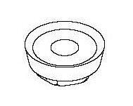 Резец сменный для алюминиевых головок цилиндра с предкамерами Comec (Италия) арт. UT1392