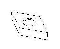 Съемный резец для UT0061-UT0066 Comec (Италия) арт. UT0070