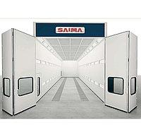 Покрасочная камера 15,6 х 5 х 5 м., 70 000 м3/ч Saima (Италия) арт. Grand Size, фото 1