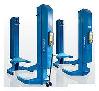 Колонны подкатные г/п 4х5,5 т. электрогидравлические. Беспроводная синхронизация. Ravaglioli (Италия) арт. RAV305H.4WS, фото 1