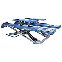 Подъемник ножничный г/п 3500 кг. напольный низкопрофильный, платформы гладкие Ravaglioli (Италия) арт. RAV6351LP, фото 1